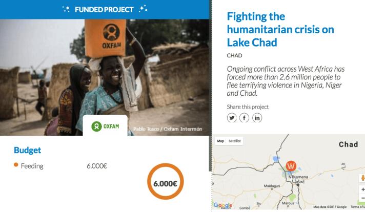 Fighting the humanitarian crisis on Lake Chad